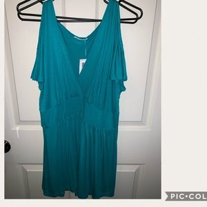 Tops - Teal Green Blouse Plus Size 3x with Tags